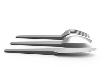 No Mess Levitating Flatware