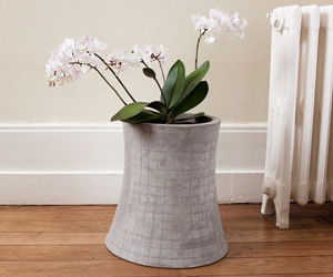 Nuclear Cooling Tower Concrete Planter