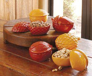 Nut-Shaped Nut Bowls