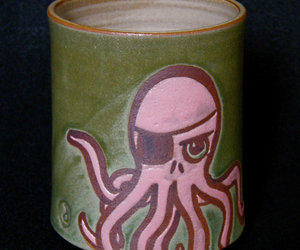 Octopus Pirate Mug