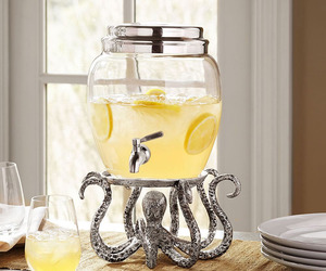 Octopus Drink Dispenser Stand