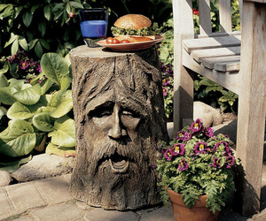 Odin Tree Stump Sculptural Table