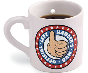 Official Left Hander's Coffee Mug