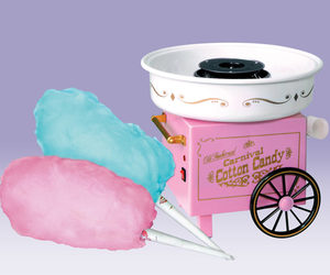 Old-Fashioned Cotton Candy Maker
