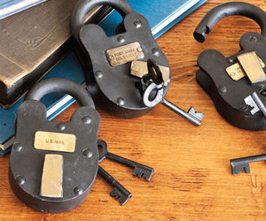 Old-Time Padlocks