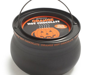 Orange Hot Chocolate Cauldron