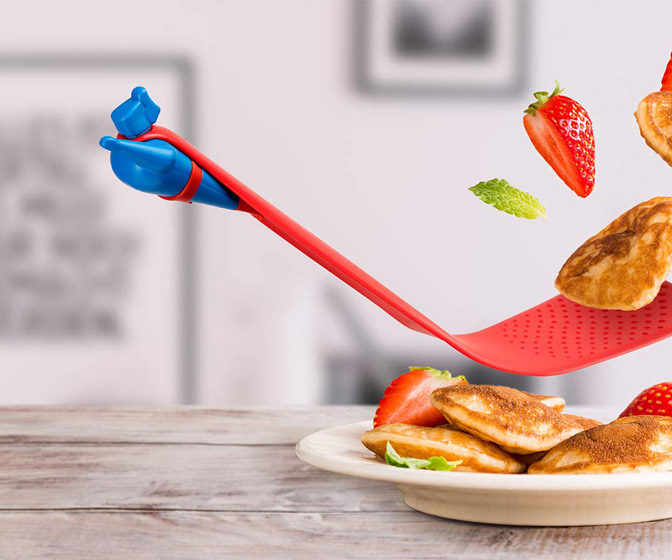 Pan Man - Superhero Spatula