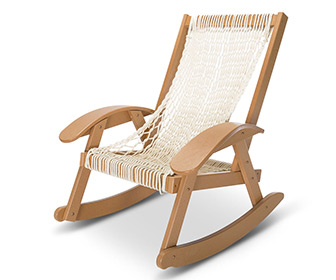 Pawleys Island Hammock Sling Outdoor Rocker