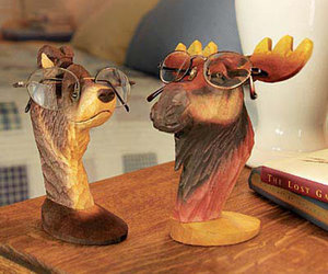 Peepers - Wooden Animal Eyeglass Holders