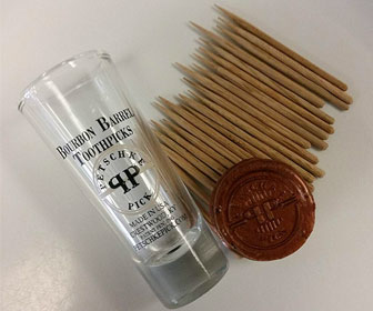 Petschke Pick Bourbon Barrel Toothpicks