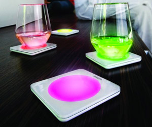 Philips Lumiware Color Changing Coasters