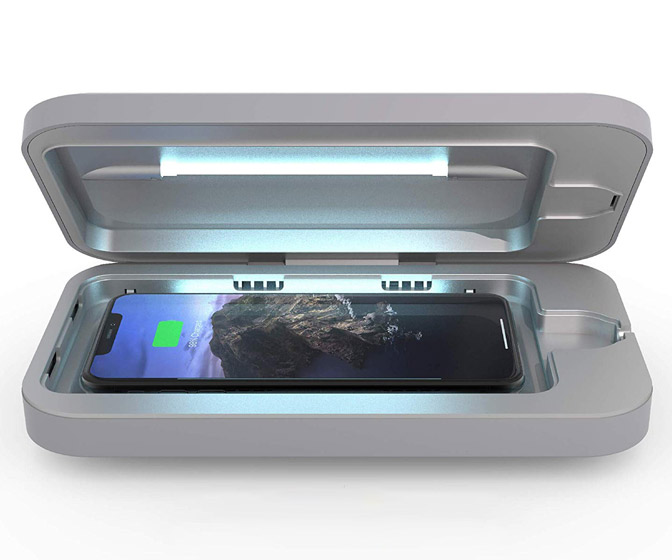 PhoneSoap - Smartphone UV Sanitizer / Wireless Charger