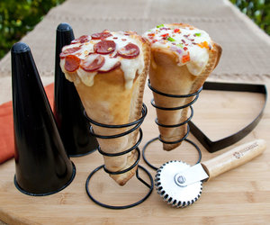 Pizzacraft Grilled Pizza Cone Set