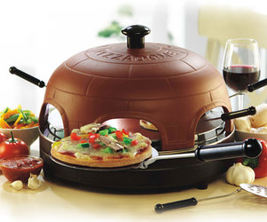 PizzaDome - Portable Italian Brick Pizza Oven