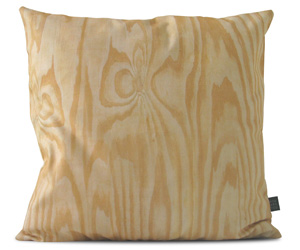 Plywood Throw Pillow