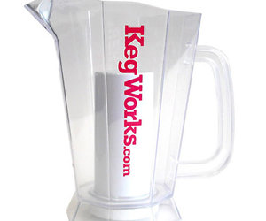 Polar Beer Pitcher with Ice Chamber
