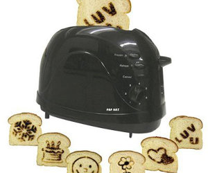 Pop Art Toaster - Brand Images Onto Your Toast