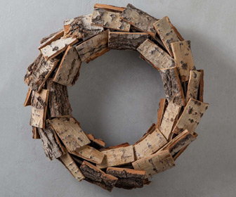 Poplar Bark Wreath