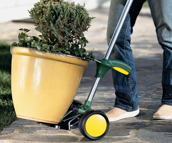 PotMover Caddy - Move Heavy Pots By Yourself