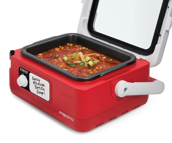 Presto Nomad - Cooler-Style Traveling Slow Cooker