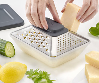 Prism Box Grater With Storage Container
