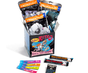 Professor Retro's Space Food Sampler