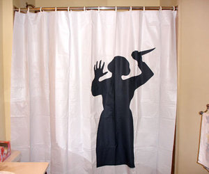 Psycho Mother Shower Curtain