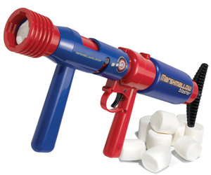 Pump-Action 50-Foot Marshmallow Blaster