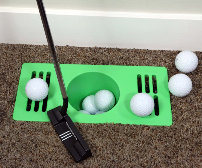 Puttacup - Indoor Golf Putting Practice Cup / Floor Vent