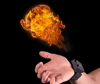 Pyro Mini FireShooter - Shoots Fireballs From Your Wrist!