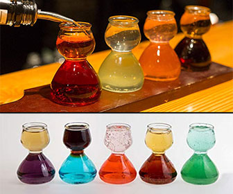Quaffer - Layered Shot Glass / Chaser