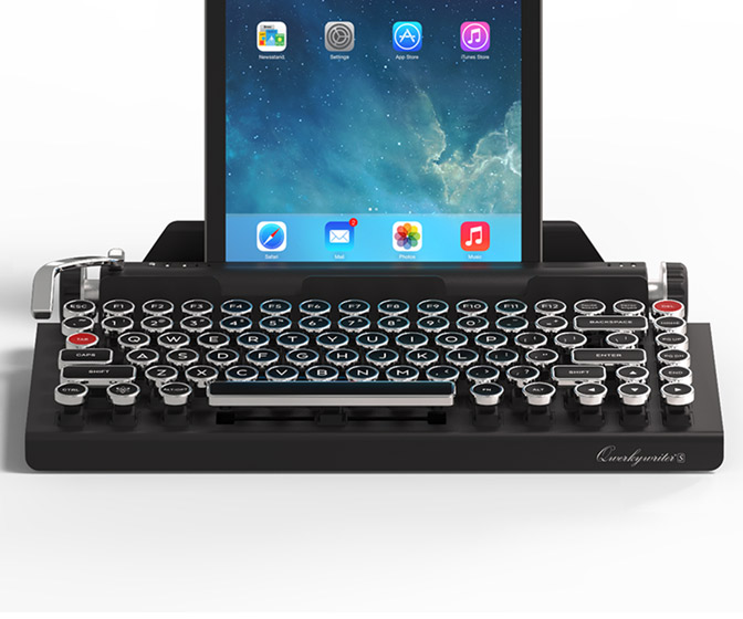 Qwerkywriter S - Retro Typewriter Inspired Mechanical Keyboard