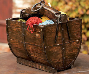 Reclaimed Wooden Well Buckets