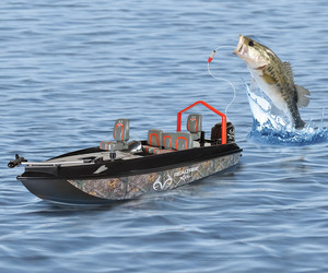 Remote Control Fish Catching Boat