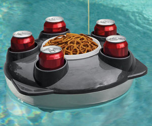 Remote-Controlled Floating Pool Tray