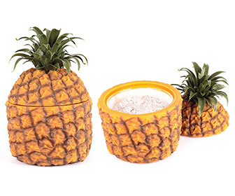 Retro Pineapple Ice Bucket