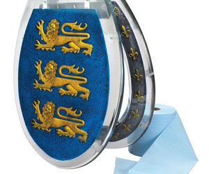 Richard the Lionheart's Throne Toilet Seat