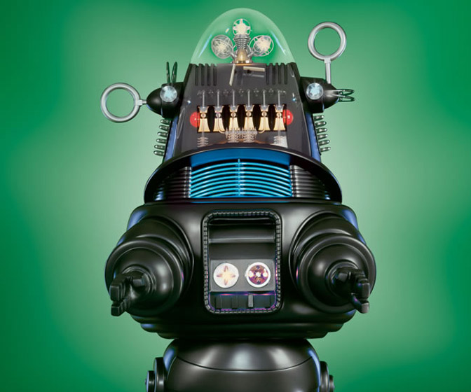 Robby The Robot - Massive Life-Sized Animatronic Replica