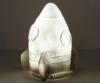 Rocket Ship Nightlight