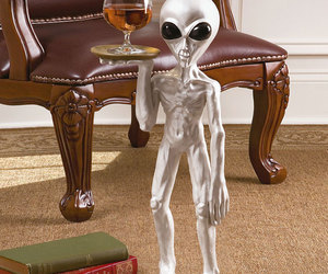 Roswell - Alien Butler Sculpture