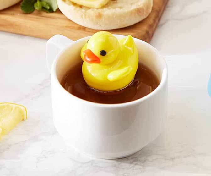 Rubber Duck Floating Tea Infuser