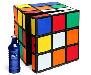 Rubik's Cube Cold/Warm Mini Fridge