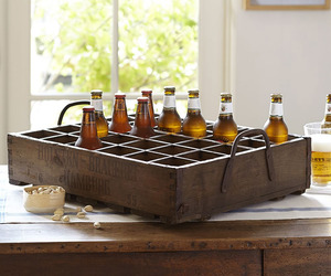 Rustic German Beer Crate