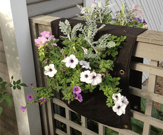 Saddlebag Hanging Planter
