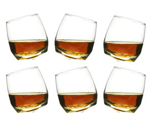 Sagaform Rocking Whiskey Glasses