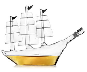 Sailing Ship Whiskey Decanter
