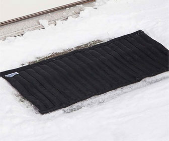 SaltNets Reusable Snow And Ice Melting Mats and Stair Treads