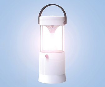 Saltwater-Powered LED Lantern