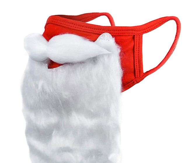 Santa Beard Face Mask