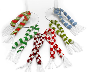 Scarf Wine Charms